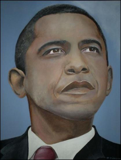 Barack Obama par MichelleNicole